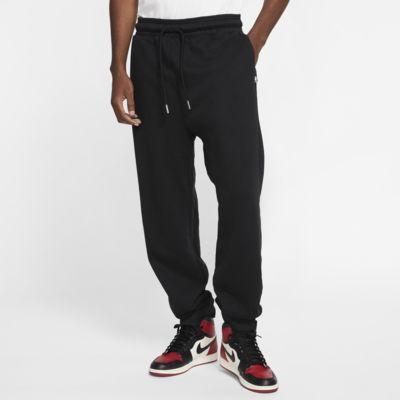 Jordan Black Cat Pantalons de teixit Fleece