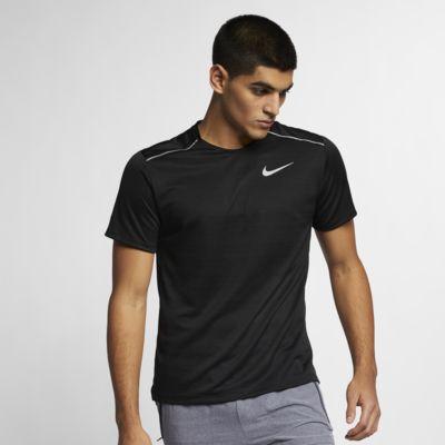 Ανδρική κοντομάνικη μπλούζα για τρέξιμο Nike Dri-FIT Miler