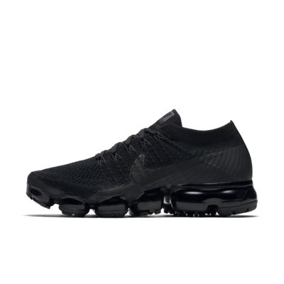 Nike Air VaporMax Flyknit 'Triple Noir' Women's Running Shoe