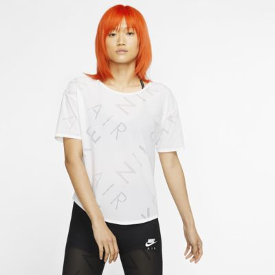 Damska koszulka z krótkim rękawem do biegania Nike Air