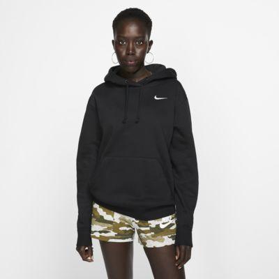Dámská flísová mikina Nike Sportswear Essential s kapucí