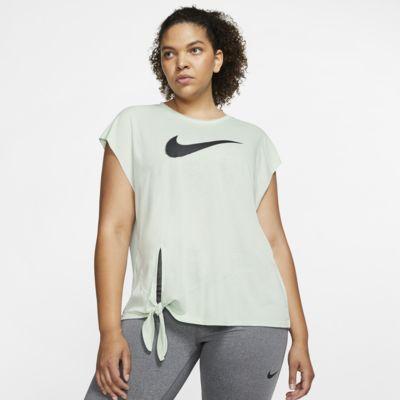 Nike Dri-FIT Women's Short-Sleeve Training Top (Plus Size)