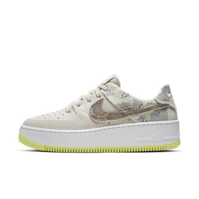 Nike Air Force 1 Sage Low Premium Camo Women's Shoe