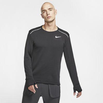 Langærmet Nike Therma Sphere Element 3.0-løbetrøje til mænd