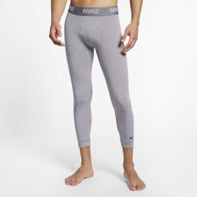 Męskie legginsy treningowe do jogi o długości 3/4 Nike Dri-FIT
