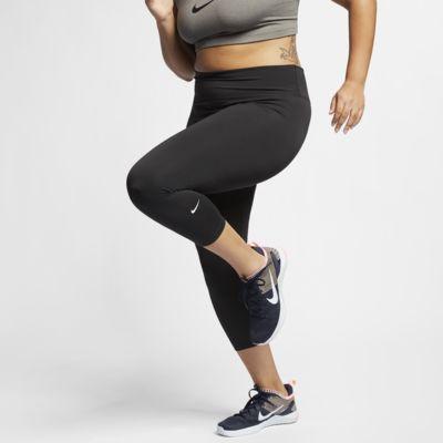 Nike One kort tights til dame (store størrelser)