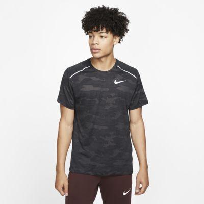 Maglia da running a manica corta Nike TechKnit - Uomo