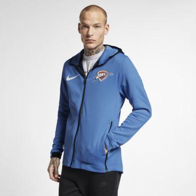 Oklahoma City Thunder Nike Therma Flex Showtime NBA-hoodie voor heren