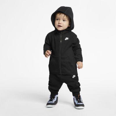 Nike Sportsweear Tech Fleece-sæt med bukser og hættetrøje til babyer (12-24 mdr.)