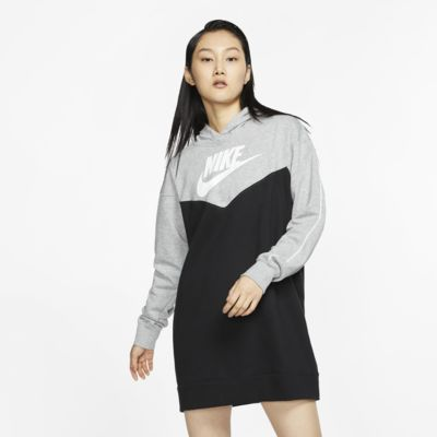 Sukienka damska z kapturem Nike Sportswear Heritage