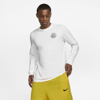 Nike Dri-FIT Men's Long-Sleeve Basketball T-Shirt