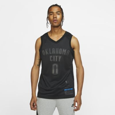 Maillot connecté Nike NBA Russell Westbrook MVP Swingman (Oklahoma City Thunder) pour Homme