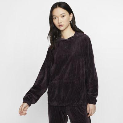 Nike Sportswear Sudadera con capucha de velvetón - Mujer
