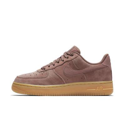 Nike Air Force 1 '07 SE Suede-sko til kvinder