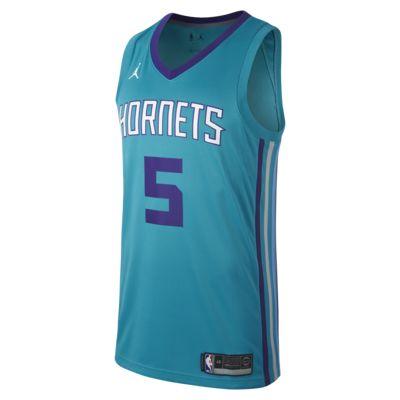 Maillot connecté Jordan NBA Nicolas Batum Icon Edition Swingman (Charlotte Hornets) pour Homme