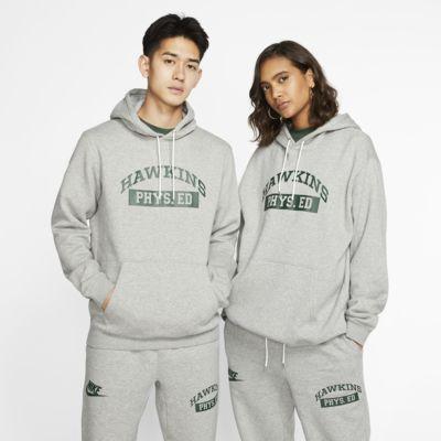 Nike x Stranger Things Club PO Hooded Sweatshirt Fir White