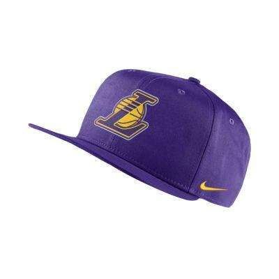 Gorra de la NBA Los Angeles Lakers Nike Pro