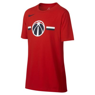 Washington Wizards Nike Dri-FIT Big Kids' Logo NBA T-Shirt