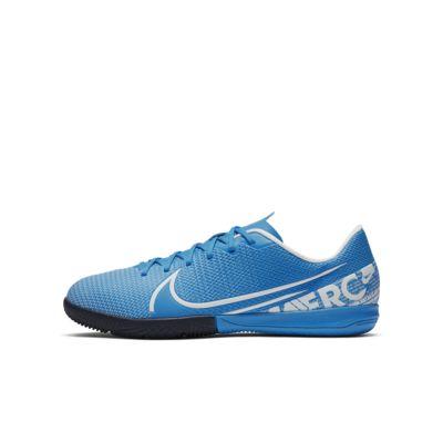 Nike Jr. Mercurial Vapor 13 Academy IC Küçük/Genç Çocuk Kapalı Saha/Salon Kramponu