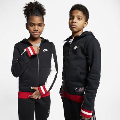 Худи с молнией во всю длину для школьников Nike Air