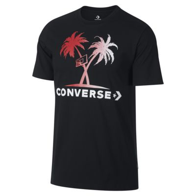 Converse Palm Trees and Hoops Men's T-Shirt