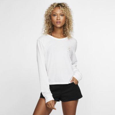 Hurley Record Palms Perfect Women's Long-Sleeve T-Shirt