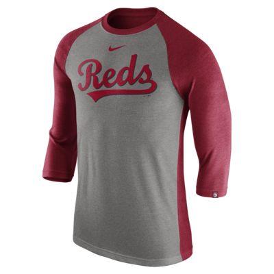 Nike Tri Raglan (MLB Reds) Men's 3/4 Sleeve Top