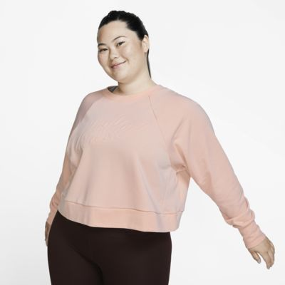 Maglia da training a manica lunga Nike Dri-FIT (Plus Size) - Donna