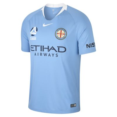Camiseta de fútbol para hombre de local Stadium del Melbourne City FC 2018/19