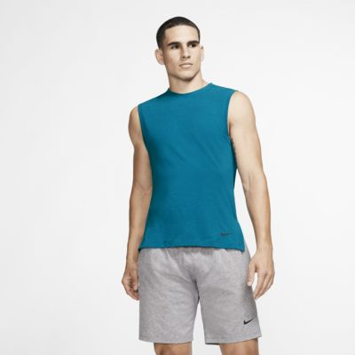 Camisola de ioga sem mangas Nike Dri-FIT para homem