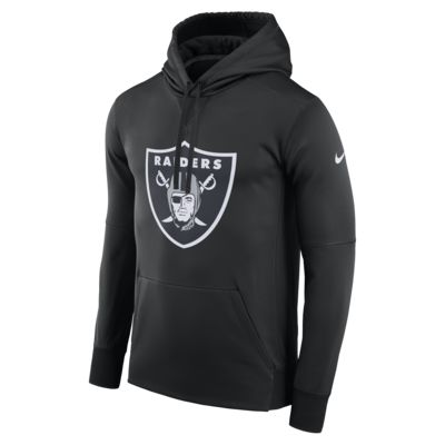 Nike Circuit Logo Essential (NFL Raiders) Men's Pullover Hoodie