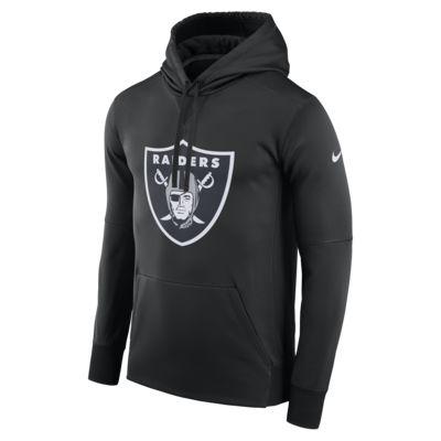 Sudadera con capucha sin cierre para hombre Nike Circuit Logo Essential (NFL Raiders)
