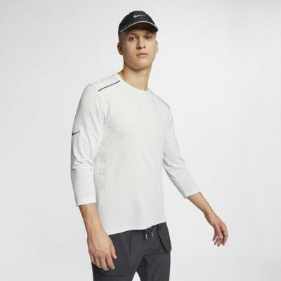 Haut de running à manches 3/4 Nike Rise 365 Tech Pack pour Homme