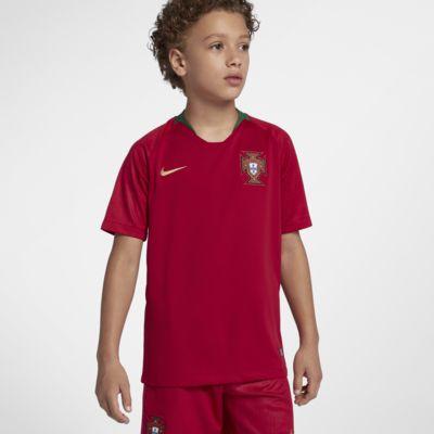 Camiseta de fútbol para niños talla grande 2018 Portugal Stadium Home