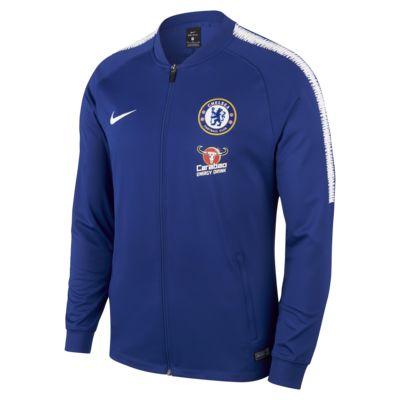Chelsea FC Dri-FIT Squad fotballtreningsjakke til herre