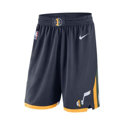 Shorts de NBA para hombre Utah Jazz Nike Icon Edition Swingman