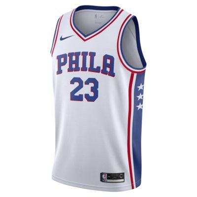 Association Edition Swingman (Philadelphia 76ers) Nike NBA Connected férfimez