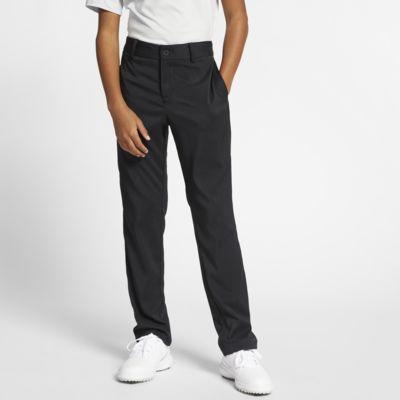 Spodnie do golfa dla dużych dzieci (chłopców) Nike Flex