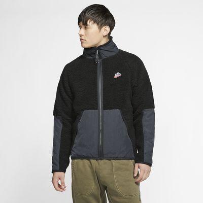 Nike Sportswear-sherpajakke i fleece til mænd