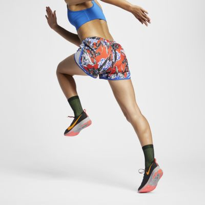 Short de running à motif floral Nike Tempo pour Femme
