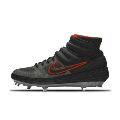 Nike Alpha Huarache Elite 2 Mid Metal Premium By You Custom Baseball Boot