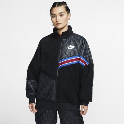 Veste de survêtement à zip en sherpa Nike Sportswear Nike Sports Pack pour Femme