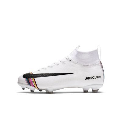 Calzado de fútbol para terreno firme para niños talla pequeña/grande Nike Jr. Superfly 6 Elite LVL UP FG
