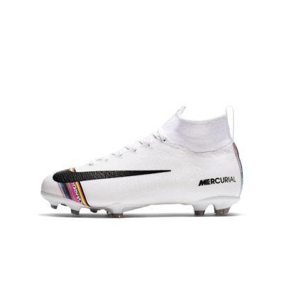 Nike Jr. Superfly 6 Elite LVL UP FG-fodboldstøvle til græs til små/store børn
