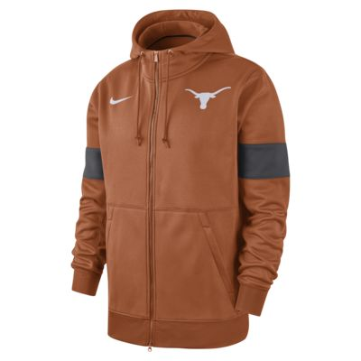 Nike College Therma (Texas) Men's Full-Zip Hoodie