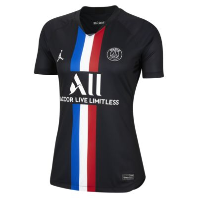 Camiseta de fútbol para mujer Jordan x Paris Saint-Germain 2019/20 Stadium Fourth