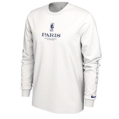 "Pánské tričko NBA Nike ""Paris"" s dlouhým rukávem"