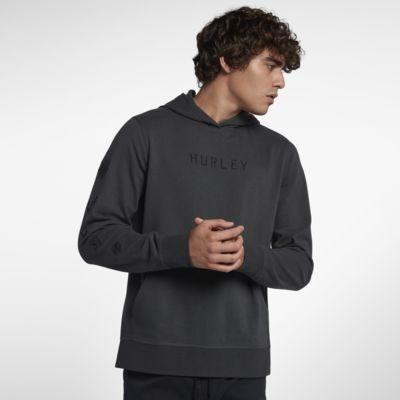 Hurley Atlas Anchor  Men's Fleece Pullover Hoodie