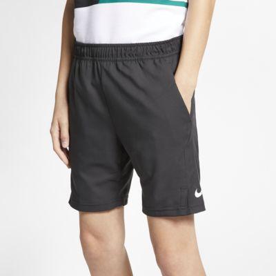 NikeCourt Dri-FIT tennisshorts til store barn (gutt)