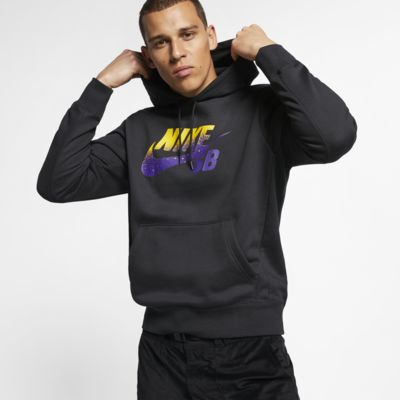 Nike SB Icon gördeszkás kapucnis férfipulóver